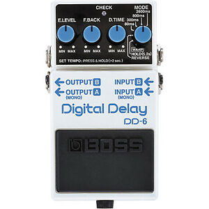Boss digital delay DD-6 and Crybaby Wah