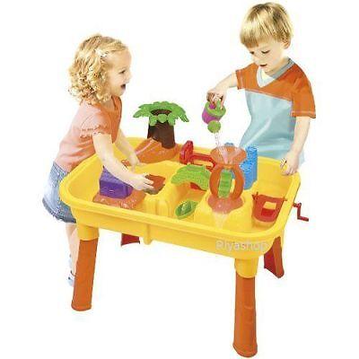 2 in1 Wasser und Sand Spieltisch Set inkl. Zubehör AUSVERKAUF SONDERPREIS NEU