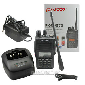 New-Version-Puxing-PX-UV973-Dual-Band-FM-Handheld-Transciever-with-VOX