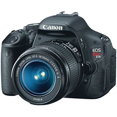 Canon EOS Rebel T3i 18MP Digital SLR Camera with 18-55mm Lens Kit 5169B003