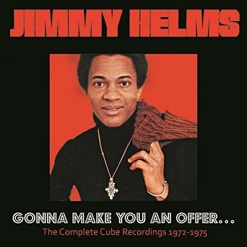 Jimmy Helms - Gonna Make You An Offer: Complete Cube Recordings [New CD] UK - Im