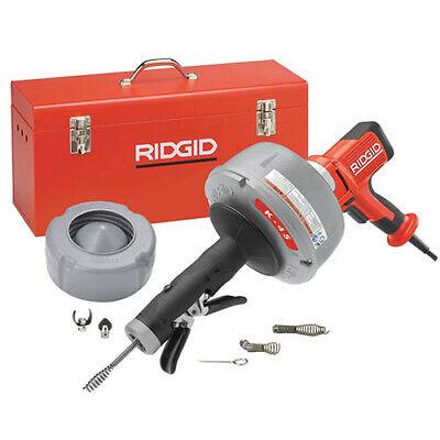 Ridgid K-45af-5 36003 Sink Machine Wc-1ic C-6 Tools Case 115v