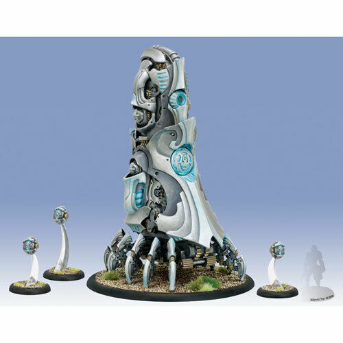 Warmachine: Convergence - Transfinite Emergence Projector & Servitors