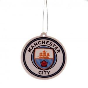 Manchester City Fc Man City In Car Hanging Air Freshener