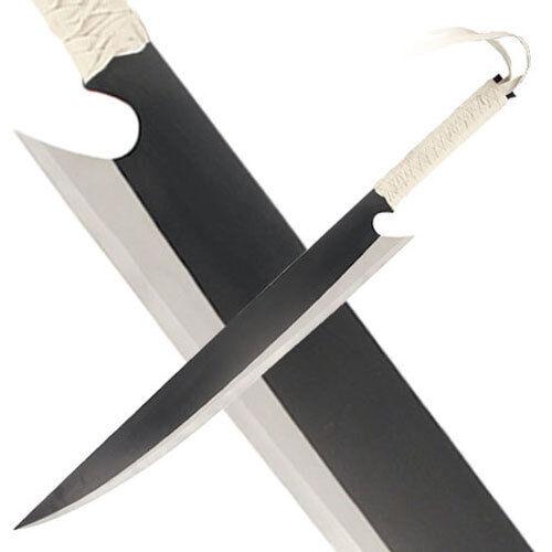 Ichigo Sword Wooden Cutting Moon Tensa Zangetsu 52 Inch Cosplay Prop Kurosaki