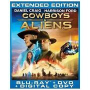 Cowboys and Aliens Blu Ray