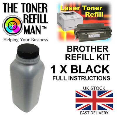 Compatible Brother toner powder for use in brother printers 200g refill kit...