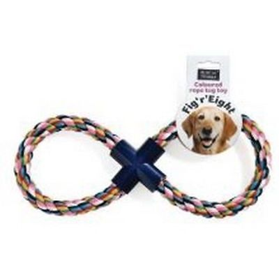 Ruff 'N' Tumble Fig 'R' Eight Rope Pull Fun Dog Toy
