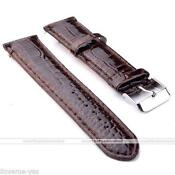 Brown Leather Watch Band