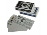 2 Decks of miracle magic Trick Playing Cards.. LONG N SHORT Svengali AND Secret Marked & Stripper
