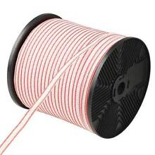 400m Roll Electric Fence Energiser Poly Tape - free delivery Bundaberg Central Bundaberg City Preview