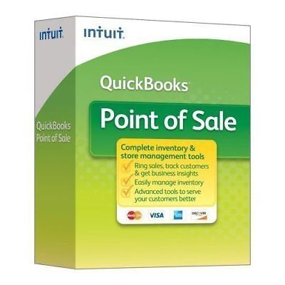 Quickbooks Desktop Pos Basic 18 2018 New User With Payments- Free Pin Pad