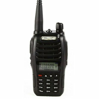 Baofeng 2013 Newest Dual Band VHF UHF 5W Walkie Talkie UV-B6 two way B6 Radio