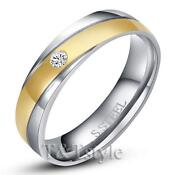Mens Stainless Steel Wedding Ring