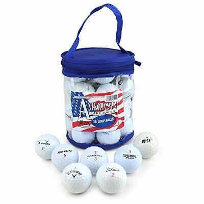 Second Chance 18 Lake Golf Balls with Storage Bag