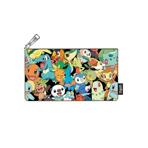 Loungefly Pokemon Zip Pouch, Character Print, Cosmetic/Coin Bag, Pencil Pouch
