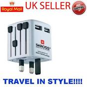 Worldwide USB Travel Adaptor