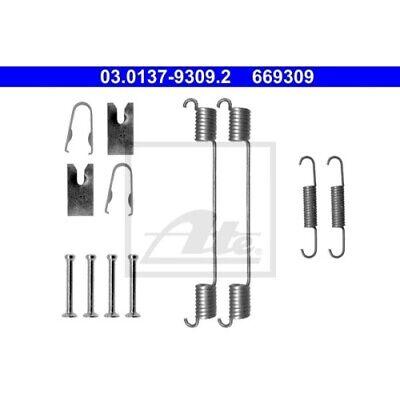 1 Zubehörsatz, Bremsbacken ATE 03.0137-9309.2 passend für FIAT OPEL RENAULT VAG