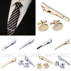 Unbranded Men's Crystal Bar/Clip/Clasp Tie Clasps & Tacks