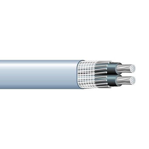 Per Foot 4/0-4/0-2/0 Aluminum Seu Service Entrance Cable Pvc Jacket Gray 600v