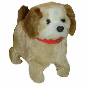 CUTE PLUSH FUZZY WALKING DANCING BARKING JUMP DOG PUPPY PET ELECTRONIC TOY GIFT