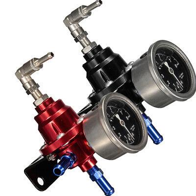 Universal Adjustable Auto Car Fuel Pressure Regulator with kPa Oil Gauge Kit Hot