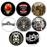 Death Metal Buttons