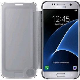 Samsung S7 phone clear case