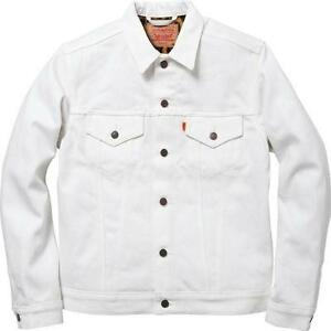 White Jean Jacket | eBay