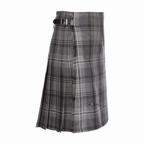 Kids Casual Polyviscose Hamilton Grey Kilt aged 0-12 Available - Heavy weight