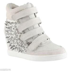 Wedge Sneakers - Ash, Skechers, Black, White | eBay