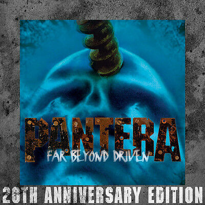 Pantera   Far Beyond Driven  20Th Anniversary Edition   New Cd  Anniversary Edit