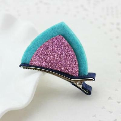 Kitten/Cat Ears Hair Clips/Pins for Children/Halloween-Blue/Pink - Halloween Clips For Kids