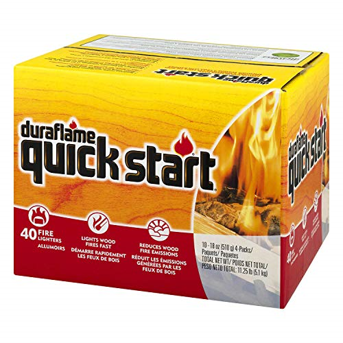 Duraflame Quick Start Fire Lighters Reduce Emissions Lights
