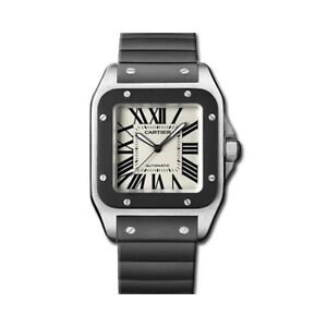NEW Cartier Santos XL 100 Automatic Stainless Steel W20121U2