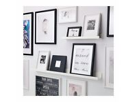 IKEA WHITE SHELF / PICTURE LEDGE