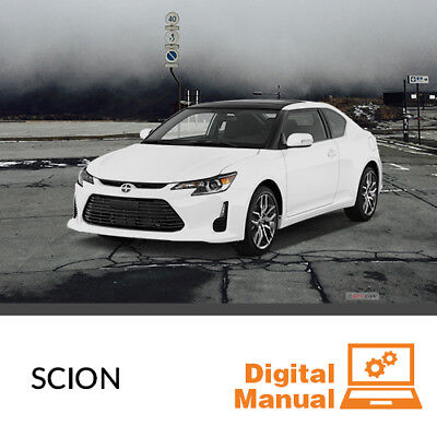 Scion   Service And Repair Manual 30 Day Online Access
