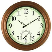 Copper Wall Clock
