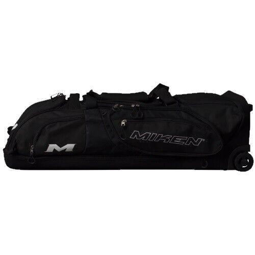 Miken Pro Player Wheeled Bag MKBG18-WB - Black
