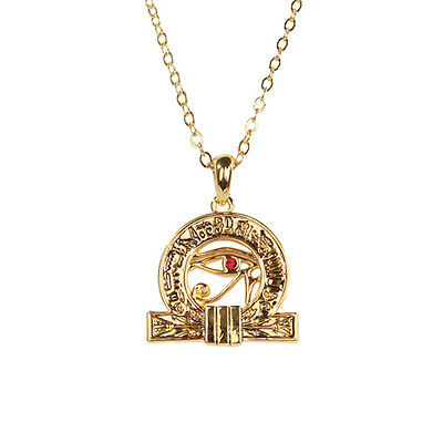 Egyptian Wadjet Patron of Kings Necklace Pendant. Ancient Egypt Fashion Jewelry