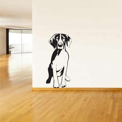 Wall Vinyl Sticker Bedroom Decal Dog Animal (Z1491)