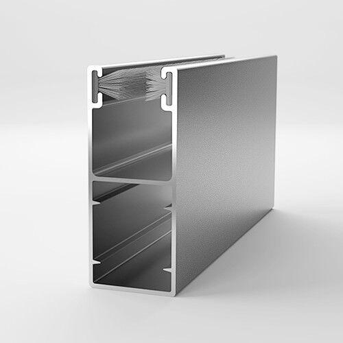 ALU Aluminium Führungsschiene Schiene Rolladen Rollladen 53/22 mm || 5,95 €/m ||