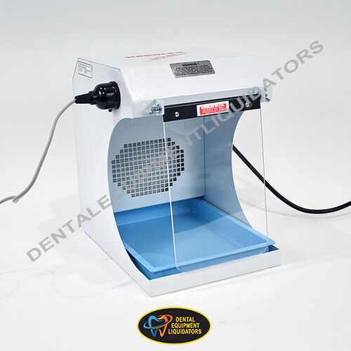 Dental Laboratory Dust Collector Handler 550 Porta-Vac Bench Top with Light