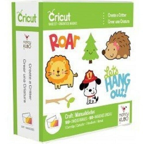 Cricut Cartridge CREATE A CRITTER ****