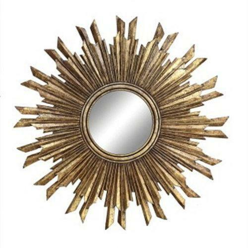 Wood Sunburst Mirror Ebay