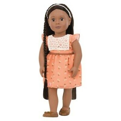 NEW Our Generation Zuri Long Hair Play Doll