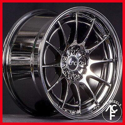 18X9.5 JNC 033 BLACK CHROME 5-120 ET+35 FIT BMW 325 328 428 528