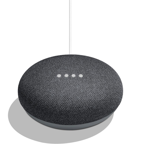 GOOGLE HOME MINI ASSISTENTE VOCALE ORIGINALE GOOGLE COLORE NERO