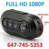 Spy HD 1080P Car Key Chain Camera IR LEDs Night Vision Cam 12MP