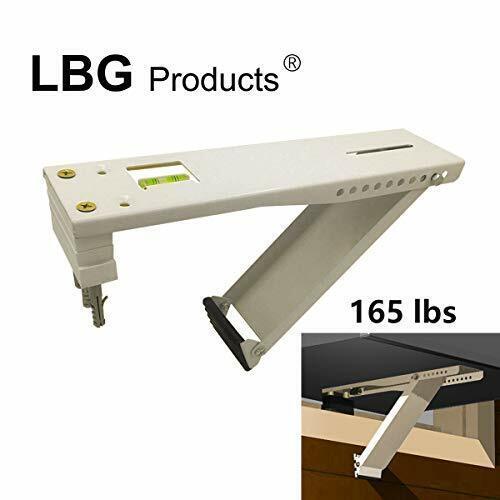 LBG Products AC Window Air Conditioner Bracket, Light Duty Support Brackets Desi